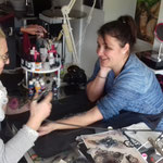 Initiation AIRBRUSH TATOO Astrid&Elodie
