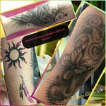 NATHALIE initiation tatoos éphémères AIRBRUSH 1 journée