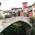 Il ponte romanico di Loro