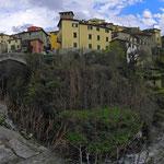 Panoramica sul borgo di Loro Ciuffenna