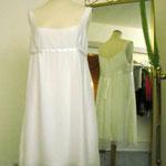 kurzes Hochzeitskleid, Seide, Empirestil - ein Hauch von...