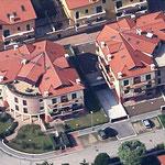Vista aerea del complesso realizzato