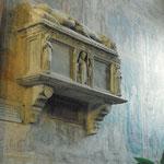 Vista del monumento funerario del guerriero Sanguinacci.