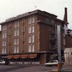 Prospetto principale dell'Hotel Milano prima della ristrutturazione