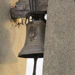 Sostegno della campana prima dell'intervento di restauro