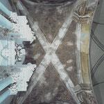Vista del soffitto interno della Cappella Cortellieri.