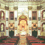 Vista della navata principale della chiesa