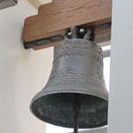 Sostegno della campana dopo l'intervento di restauro