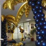Décoration de ballons pour EDF