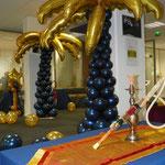 Palmier en ballons