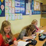 Klassenraum im Ergeschoß