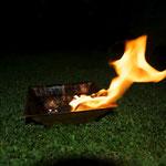 Agnihotra Feuer Ritual Kuffern, Niederöstereich, Energethiker Praxis Maria Schlömicher