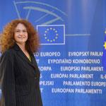 MED Dr. Monika Vana, Europäisches Parlament Strasburg