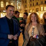 MEP Dr. Monika Vana, VIEGO Präsidentin Kati Schneeberger und Dietmar Pichler