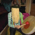 Fransenvorhang für die Trommelreise - Trancereise Lio