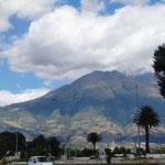 Ibarra ist von mehreren Vulcanen umgeben