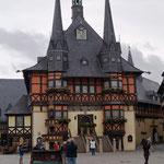 das berühmte Rathaus von Wernigerode
