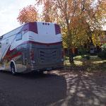 wir winken ihrem Camping-Bus hinterher