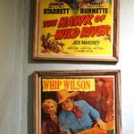 ein Plakat, wo wir zur Filmvorführung über die wechselhafte Geschichte von Tombstone waren.