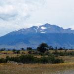 die Anden wieder in Sicht