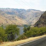 entlang des Snake Rivers