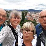 hoch über Graz auf dem Schlossberg
