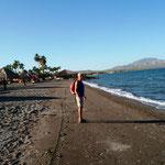 der Strand - auch sauber