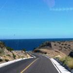 und hinter den Bergen - der Golf von Kalifornien