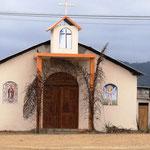 die Kirche geht auch klein und schick