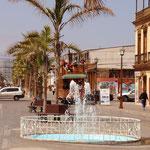 auf der Avenida Baquedano