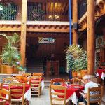 Restaurant in einem noch hübscheren Hotel
