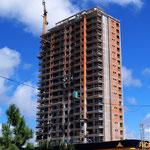 Haus im Bau - beachte die Touiletten (2)