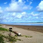 sauberer Strand