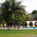 Pool auf dem Campingplatz