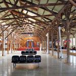 der alte Bahnhof wurde zur Kultureinrichtung mit Kino und Theater
