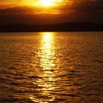 und zur Belohnung noch ein toller Sonnenuntergang