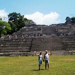 die höchste Pyramide - Caana-Pyramide  43-46 m hoch