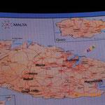 nach dem ersten Seetag - Malta