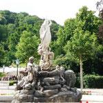 ... nach Baden - ein hübscher Kurort mit Thermalbädern