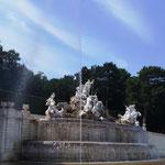 Brunnen mit Neptun