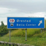 Wir kommen der Öresundbrücke nahe