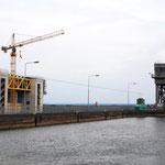 Schiffshebewerft  - Neu im Bau - Alt in Betrieb