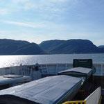 ... schippern über den grössten Fjord Norwegens!