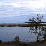Ausblick vom Camping