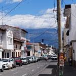 Straße in Ibarra