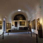"""Gemáldeausstellung in der """"Pinakothek"""""""
