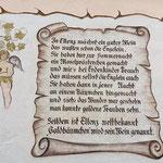 Schild in Ellenz Poltersdorf