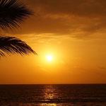 und wieder ein wunderbarer Sonnenuntergan,