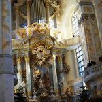 in der Frauenkirche ...