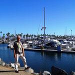 sehr schöne Hafenanlage mit Wanderwegen
